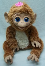 "Hasbro Fur Real Friends INTERACTIVE BABY MONKEY 11"" Plush ANIMAL Toy - $24.74"