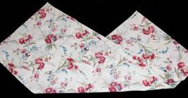"Laura Ashley Farmhouse Iris Floral Cottage Chic Valance 85"" X 17.5"" Nwot Disc - $24.99"