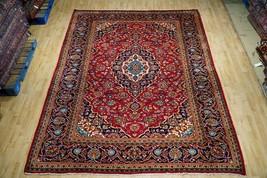 Handmade 8x11 Superb Persian Kashan Historic Classic Glamorous Rug - $1,498.52