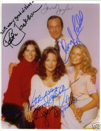 Primary image for CHARLIES ANGELS CAST SIGNED AUTOGRAPHED 8X10 RP PHOTO BOSLEY KATE JACLYN CHERYL