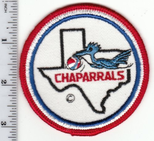 "Primary image for Vintage Early 1970s ABA Dallas Chaparrals 3"" Round Patch (sew on) defunct team"