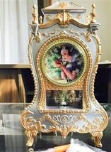 Disney Snow white Castle Clock L Princess Table clock Poisone apple Japan - $54.45