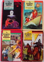 Hardy Boys 4 LOT Wanderer & Minstrel pbs no.63, 70, 107, 131 Franklin W.... - $6.00