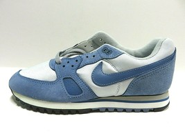 NOS 80s Nike Airliner Waffle Runners Sneaker Blue/Grey Tennis Shoes Men'... - $197.95