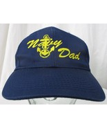 US Navy DAD Ball Cap Father's Day Gift Father Hat Snapback - $10.39