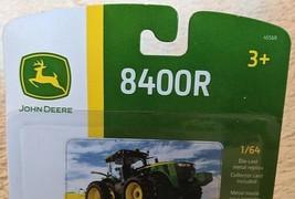 John Deere LP64762 ERTL 8400R Die Cast Metal Replica Tractor image 2