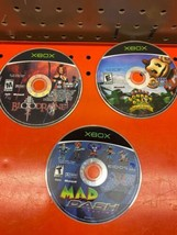 ORIGINAL XBOX MIXED GAME LOT OF 3 - $14.84