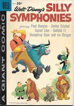 Walt Disney's Silly Symphonies Dell Giant Comic Book #9, Dell 1959 VERY ... - $38.62