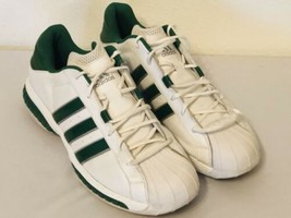 Adidas Torsion System  Basketball Shoes Size 16 Green/white - $39.99