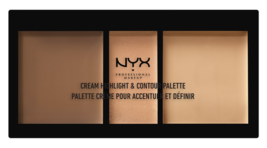 NYX Cream Highlight & Contour Palette CHCP02 - MEDIUM - Brand New/Sealed - $5.91