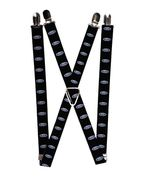 Ford Oval Logo Suspenders  - $13.99