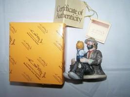 """Flambro Emmett Kelly Jr Miniature Collection """"The Emmett's Fan"""" 10013  - $30.94"""