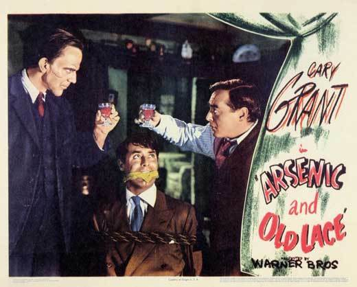 Arsenic and old lace lobby card toast