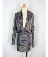 Plunging Cocktail Club Dress VA VA VOOM Bodycon Dress S - $81.18