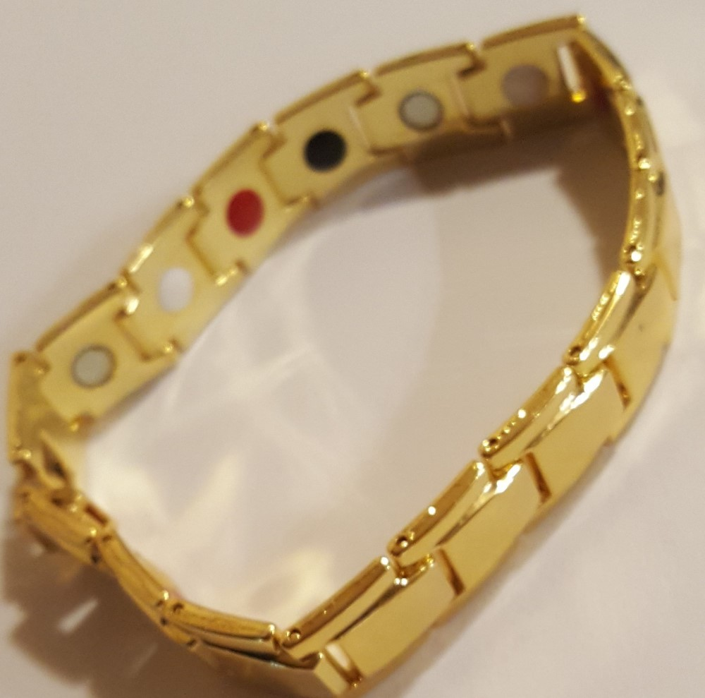 Holistic Magnetic Bracelet (Gold Color)