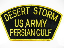"""Patch, """"DESERT STORM-US Army-PERSIAN GULF, NEW - $5.84"""