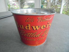 Budweiser Bucket and 4 Glasses - $19.80