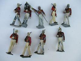 Marx West Point Cadets Vintage Original USMA Plastic Army War Figure Pla... - $23.12