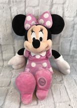 Minnie Mouse Pink Plush Disney Store Original Exclusive Authentic Collectible - $11.30