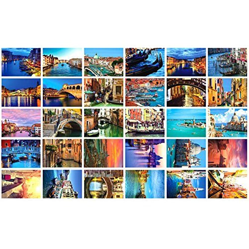 Primary image for 30 PCS 1 Set World's Beautiful/Famous City Postcards, Venice Italy