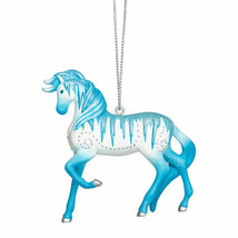 Holiday Ice Painted Pony Ornament - $25.95