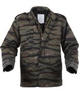Tiger Stripe Camouflage Military Vietnam M-65 Field Coat Army M65 Jacket - $82.99+