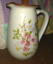VTG FRENCH COUNTRY COTTAGE JAPAN FLOWER BOUQUET CROCK O'KEEF POTTERY PIT... - $267.99