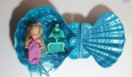 Rare Mattel Magical Mermaid Barbie Baby Krissy doll light up Sea Shell p... - $22.24