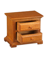 Dollhouse Empty Night Stand Table Reutter 1.827/3  Miniature - $14.25