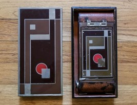 Antique NO. 1A Gift Art Deco Folding Belows Camera w/ Original Decor Ced... - $18.70