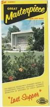 Vintage Travel Brochure Great Masterpiece Lake Wales Florida 1960's - $7.91