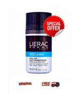 2x LIERAC HOMME DEO 24H ROLL ON 2x50ML men's anti-perspirant - $33.12