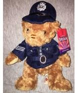 "Glorious Britain Policeman Bear teddy plush doll NWT Keel Toys Limited 11"" - $9.85"