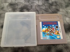 SUPER MARIO LAND NINTENDO GAME BOY 1989 WITH CASE USED GOOD CONDITION WORKS - $14.27