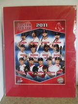 "MLB Boston Red Sox 2011 8"" x 10"" Matted Team Photo (GA-10)  - $9.99"