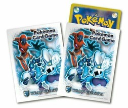 Japanese Pokemon Black & White BW8 Team Plasma DEOXYS Sleeves 32ct - $18.53