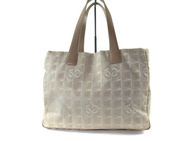 Auth CHANEL Travel line Canvas, Leather Pinks Tote Bag CT4781L - $129.00
