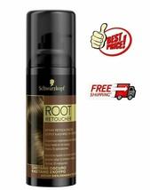 Schwarzkopf Root Retoucher DARK BROWN **Root Cover Spray** 120 ml - $18.78
