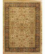 6' x 8' Persian Design New Indian Jaipur Ivory Serapi Handmade Area Rug - $503.37