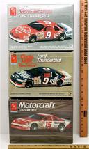 AMT 1:25 Model Ford Thunderbird Bill Elliot #9 Coors + Morgan Shepard #1... - $31.38