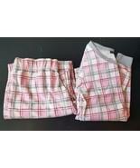 Tart Intimates Flannel Pajamas, Cute pink/gray/white.   Small - $4.89