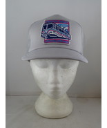Vintage Patched Trucker Hat - C Train Calgary North West Line Grand Open... - $39.00