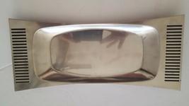 Mid Century Danish Modern Stainless Steel Serving Platter B&B Sweden Wit... - $43.64