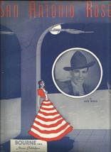 1940 San Antonio Rose by Bob Wills Chords Guitar Vintage Sheet Music - $7.95