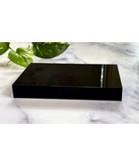 6X4X0.75 inch Black Acrylic Display Stand Pedestal New Solid Block - $29.65