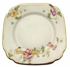 c1920 Royal Albert Thomas Wild 8380 6.25 Inch Square Plate - $14.15