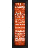 "University of Findlay ""Oilers""- 24 x 8 Family Cheer Framed Print - $39.95"