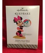 Hallmark Keepsake Ornament Minnie Has a Ball A Year of Disney Magic 2014 - $8.42