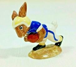 Royal Doulton Bunnykins Character Figurine Touchdown Bunnykins Rabbit DB29 - $109.95