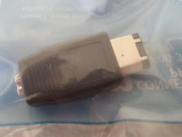 NEW L-com Lcom Connectivity Firewire 1394 Adapter 6-Pin M to 4-Pin F FWA... - $2.99